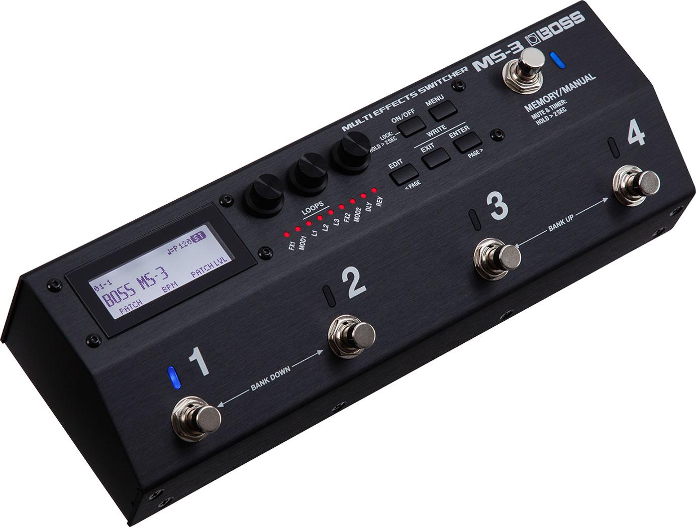BOSS ( ボス ) MS-3【マルチエフェクター・スイッチングシステム WO 】【C4061 パッチケーブルプレゼント 】