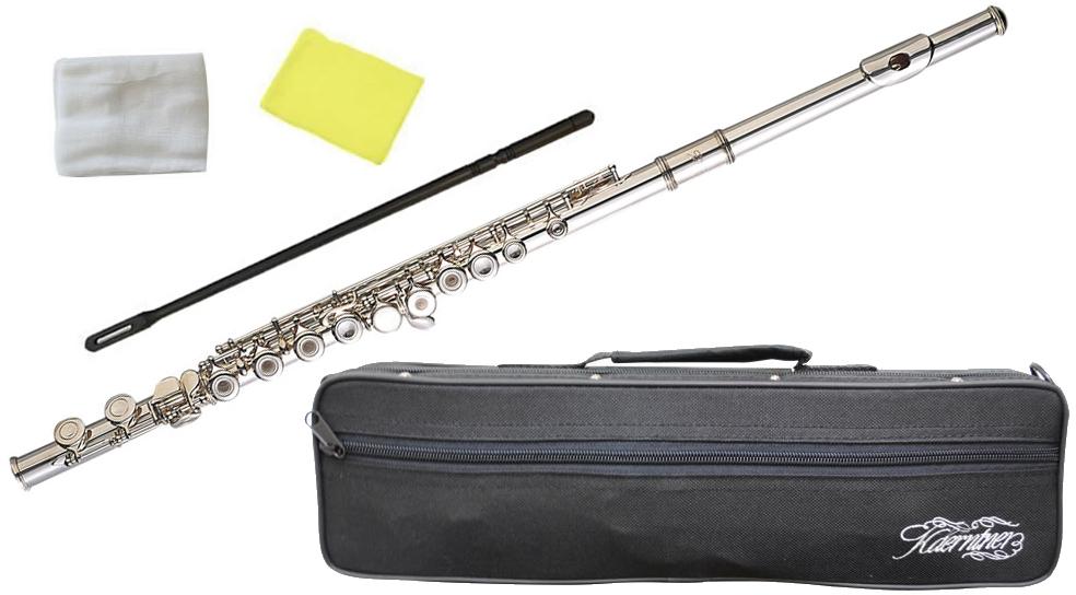 Kaerntner ( ケルントナー ) KFL29 リングキイ フルート 新品 銀メッキ Eメカニズム付き 管楽器 C管 本体 頭部管 足部管 flute 楽器 KFL-29 Open Hole 一部送料追加 送料無料(沖縄/離島/同梱不可)