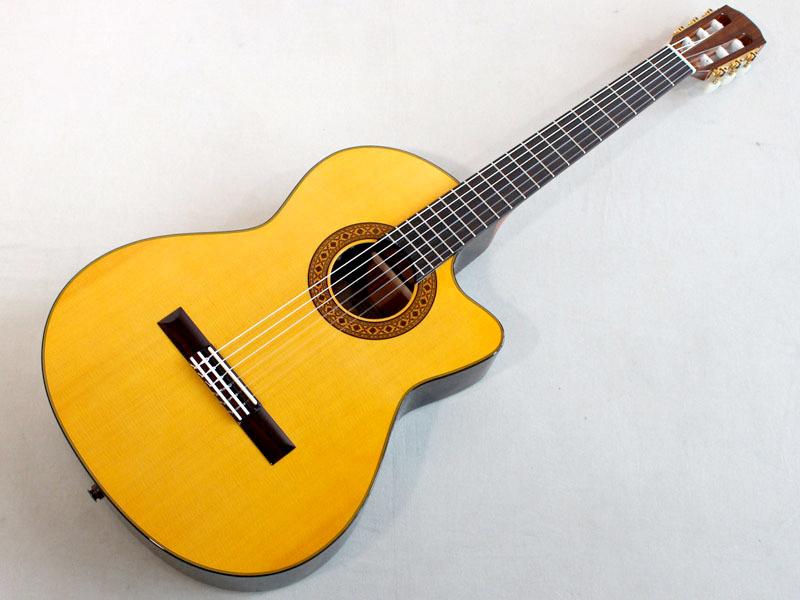 45mmネック幅の日本製エレガット K.Yairi ケーヤイリ CE-3 クラシックギター エレガット 日本製 特価 信用