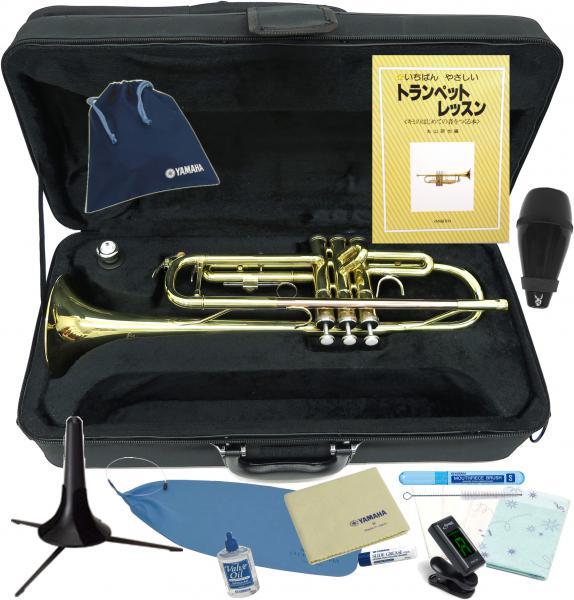 J Michael ( Jマイケル ) TR-380 トランペット 新品 レッドブラス製 マウスパイプ 管体 ゴールド 管楽器 スタンダード B♭ 本体 ケース Trumpet gold 【 TR380 セット A】 送料無料