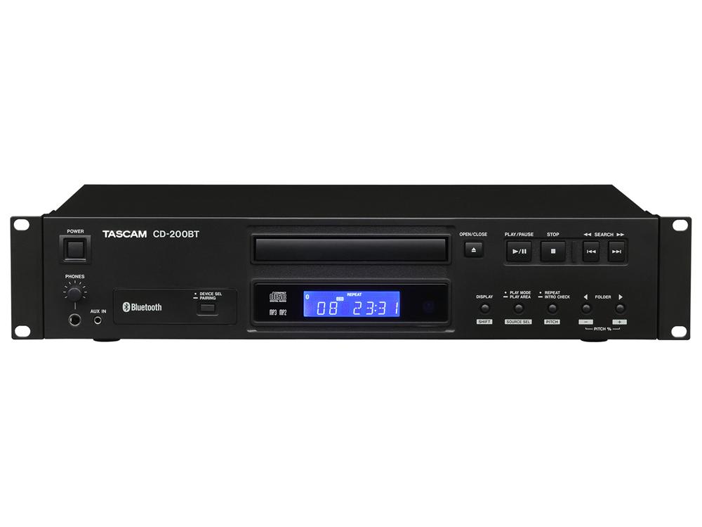 TASCAM ( タスカム ) CD-200BT ◆ Bluetooth対応 CDプレーヤー [ 送料無料 ]