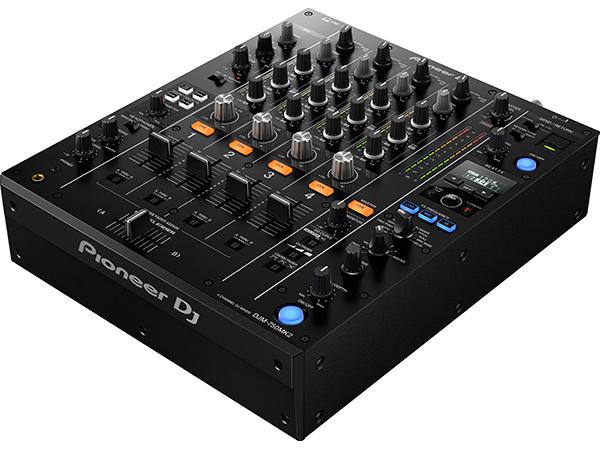 Pioneer ( パイオニア ) DJM-750MK2 【ブラック】 ◆【DJ ミキサー】【PC DJ】
