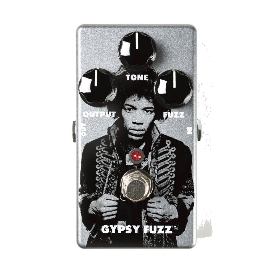 Jim Dunlop ( ジムダンロップ ) JHM8 JIMI HENDRIX GYPSY FUZZ 【ジミヘンドリックス ファズ 限定品 KH 】【勝負価格! 】