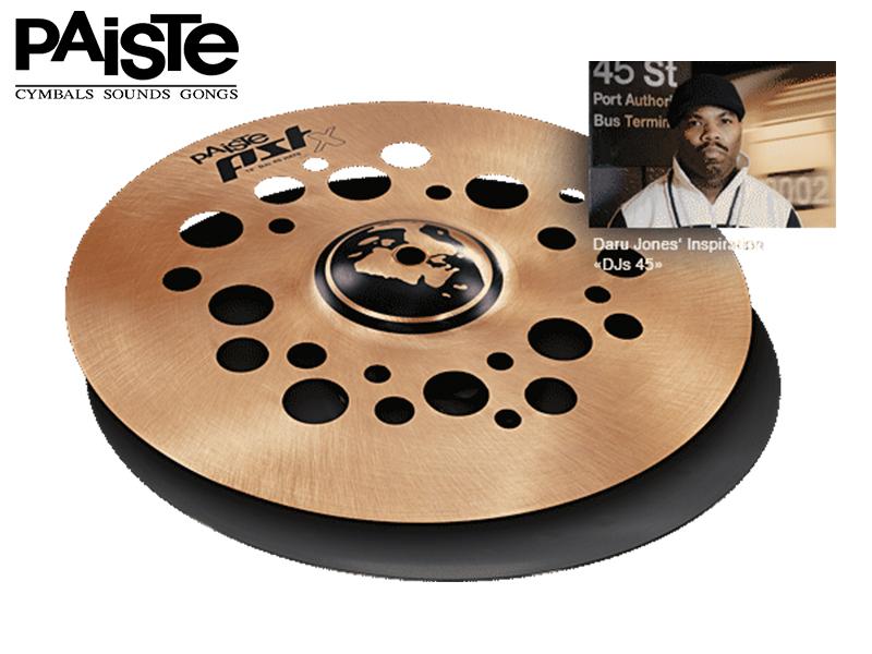 Paiste ( パイステ ) PST-X DJs 45 Hats 12 【ユニークな12 ハイハットシンバル ペア】 ドラム・パーカッション