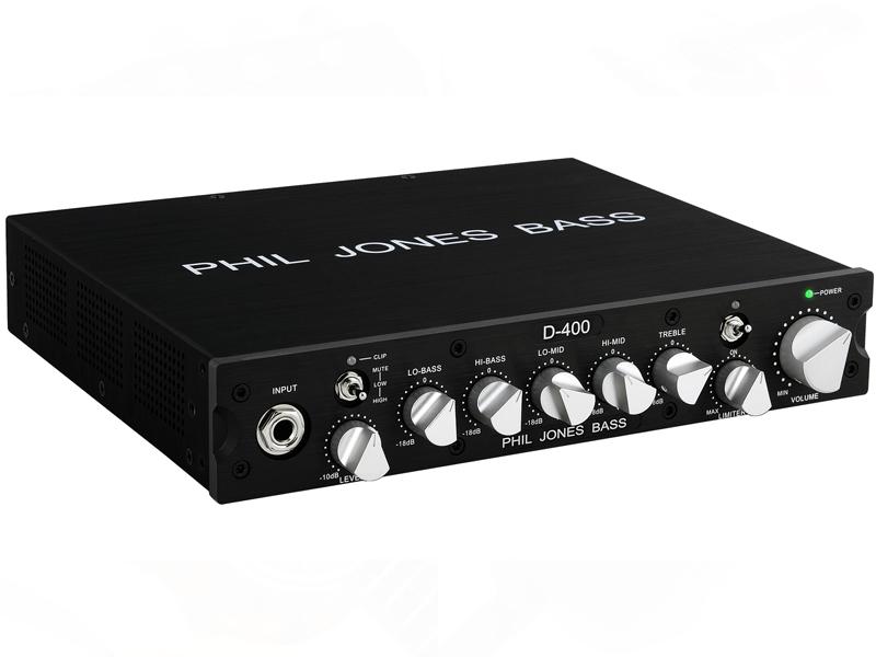 Phil Jones Bass ( フィル ジョーンズ ベース ) D-400【小型軽量ベースアンプヘッド 】
