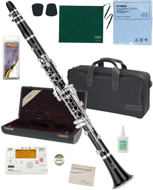 YAMAHA ( ヤマハ ) YCL-650 木製 クラリネット 新品 正規品 日本製 高級 グラナディラ B♭管 本体 プロフェッショナル 管楽器 YCL650 セット A 北海道 沖縄 離島不可