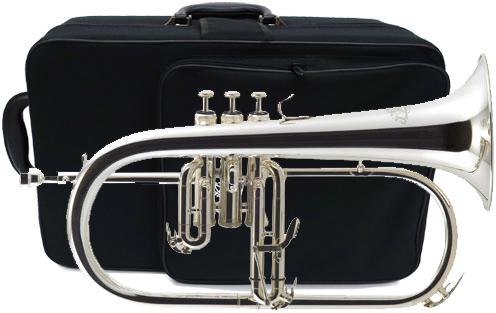 J Michael ( Jマイケル ) FG-550S 銀メッキ フリューゲルホルン 新品 アウトレット 管楽器 シルバーメッキ 本体 ケース マウスピース セット FG550S flugelhorn 送料無料