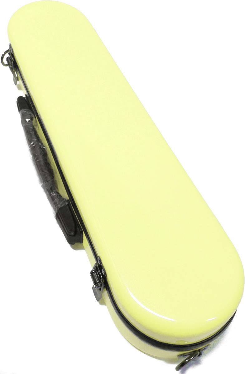 CCシャイニーケース フルートケース パステルイエロー 黄色 CC2-FL-PY ハードケース フルート用 ケースカバー ショルダータイプ 管楽器 ケース イエロー C管 H管
