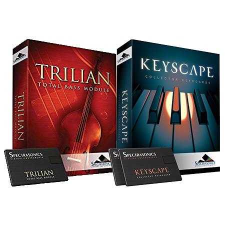 Spectrasonics Keyscape × Trilian【KEYTRIUSBSET】【本数限定特価 】 ◆【 送料無料 】【 音源ソフト 】【 ソフトシンセ 】