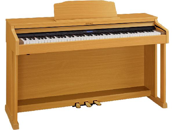 Roland ( ローランド ) HP601-NBS ◆ ナチュラルビーチ調仕上げ【受注後納期連絡 】  ◆【送料無料】【電子ピアノ】【88鍵盤】【ピアノタッチ】【据え置きタイプ】