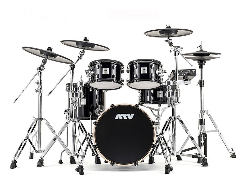 ATV (エーティーブイ) aDrums artist Expanded set 【オリジナルハードウェアセット付属】【ADA-EXPSET-b】【純正14 シンバルパットプレゼント 】