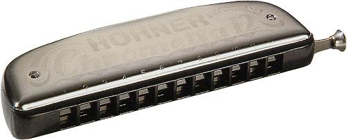 HOHNER ( ホーナー ) クロメッタ12 クロマチックハーモニカ 12穴 C調 スライド式 3オクターブ ハーモニカ 255/48 Chrometta 12 楽器 Chromatic Harmonica 送料無料