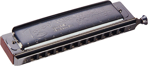 HOHNER ( ホーナー ) Toots Mellow Tone トゥーツ シールマンス クロマチックハーモニカ 7538/48 メロートーン 12穴 スライド式 ハーモニカ 木製ボディ