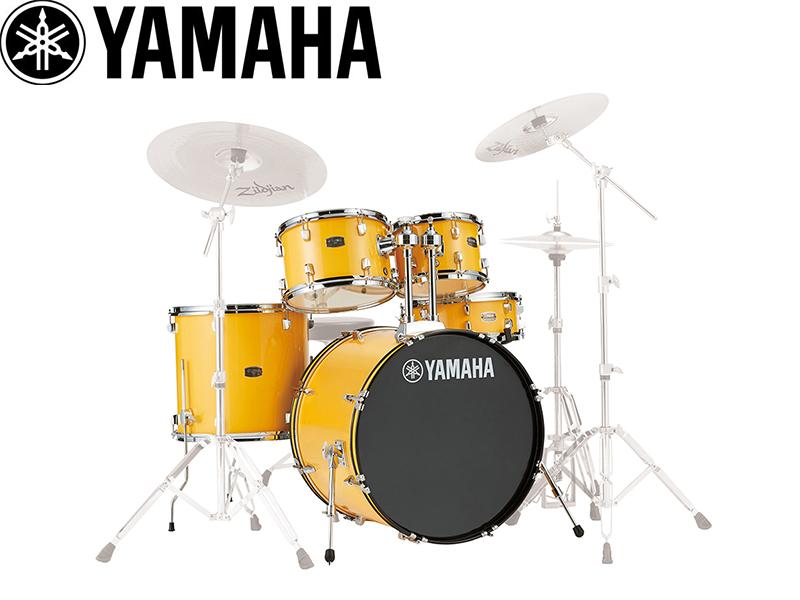 YAMAHA ( ヤマハ ) RDP0F5YL メローイエロー 【RYDEEN / シェルパッケージ ヤマハのエントリークラスドラムセット】 ドラム初心者から中級者までおすすめの ライディーン ドラムセット