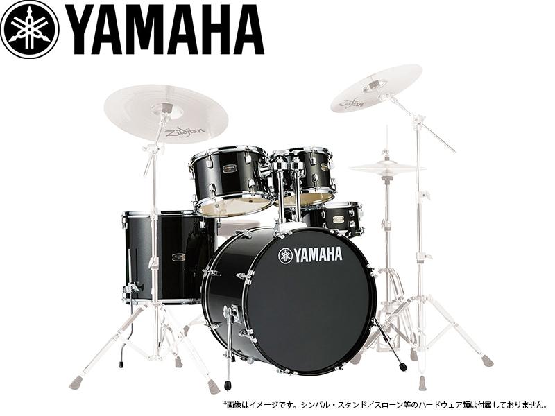 YAMAHA ( ヤマハ ) RDP0F5BLG ブラックグリッター 【RYDEEN ドラムセット / シェルパッケージ 】【取り寄せ商品/受注後納期確認】 ライディーン ドラムセット