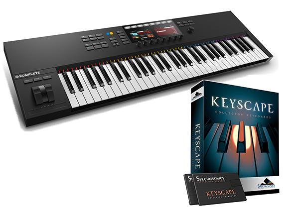 Native Instruments KOMPLETE KONTROL S61 MK2 + Keyscape セット【KKS61MK2KSCP】【本数限定特価 】 ◆【送料無料】
