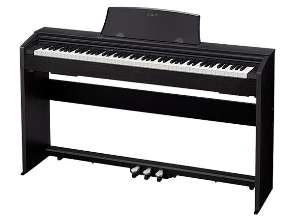 CASIO ( カシオ ) PX-770 BK ◆【ブラックウッド調】 ◆【送料無料】【電子ピアノ】【88鍵盤】【スタイリッシュ スリム】