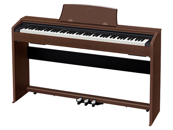 CASIO ( カシオ ) PX-770 BN ◆【オークウッド調】 ◆【送料無料】【電子ピアノ】【88鍵盤】【スタイリッシュ スリム】