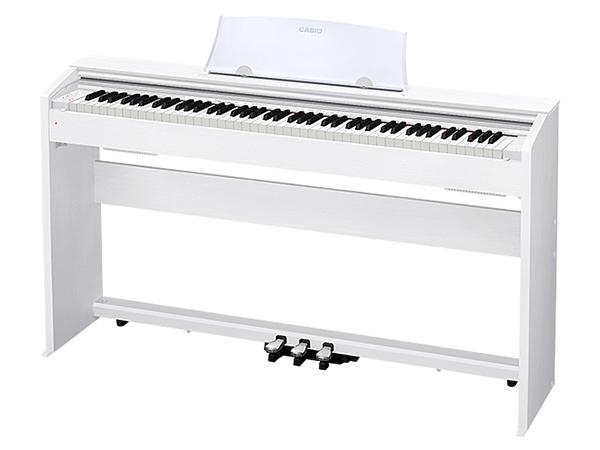 CASIO ( カシオ ) PX-770 WE ◆【ホワイトウッド調】 ◆【送料無料】【電子ピアノ】【88鍵盤】【スタイリッシュ スリム】