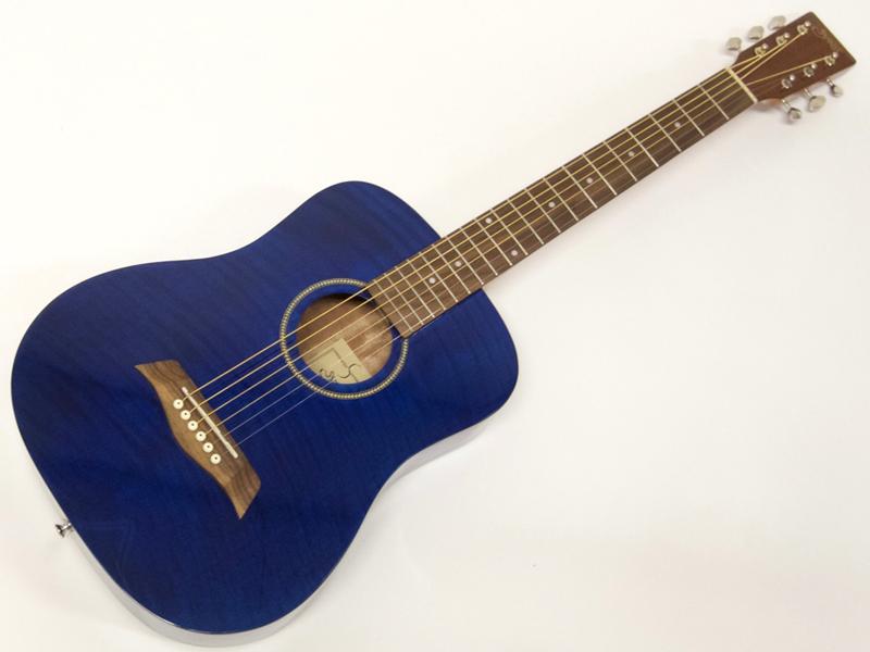 S.Yairi ( エスヤイリ ) YM-02(BL-FM)【限定モデル コンパクト アコースティックギター ミニアコギ 】