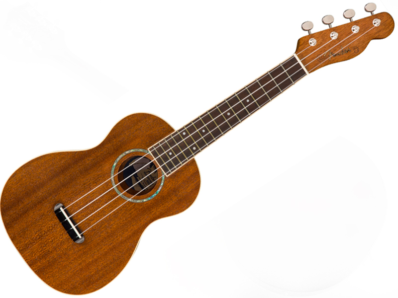 Fender ( フェンダー ) Zuma Concert Ukulele (NAT)【コンサート ウクレレ】【965063021】