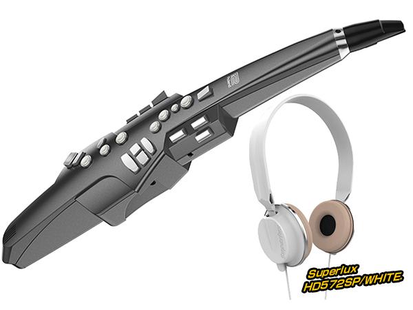 Roland ( ローランド ) AE-10G ヘッドフォン セット ホワイト ◆【AE10GHEADSETWH】 ◆【送料無料】【ウィンドシンセサイザー】
