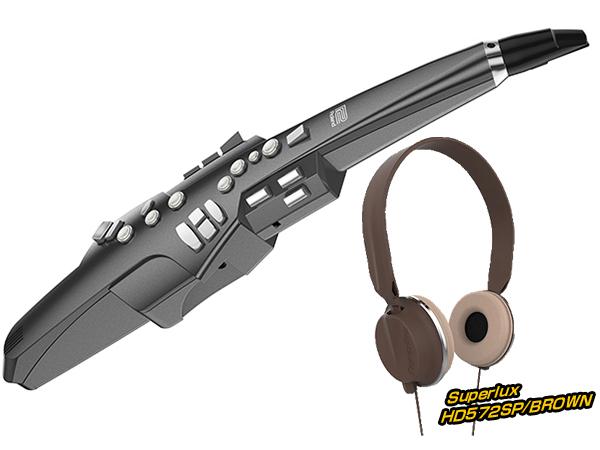 Roland ( ローランド ) AE-10G ヘッドフォン セット ブラウン ◆【AE10GHEADSETBR】 ◆【送料無料】【ウィンドシンセサイザー】