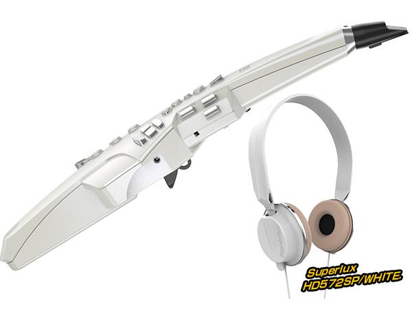 Roland ( ローランド ) AE-10 ヘッドフォン セット ホワイト ◆【AE10HEADSETWH】 ◆【送料無料】【ウィンドシンセサイザー】