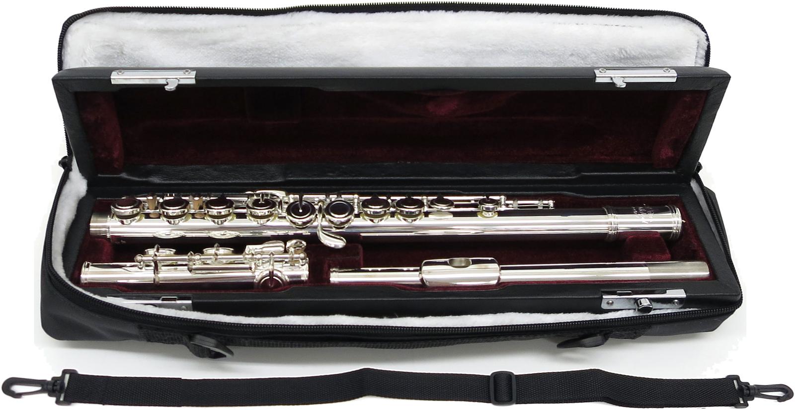 J Michael ( Jマイケル ) JFL-50CE アウトレット 新品 フルート リッププレート 銀製 カバードキイ Eメカニズム付き 本体 銀メッキ 木管楽器 JFL50CE flute 送料無料