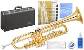 YAMAHA ( ヤマハ ) YTR-2330 トランペット 新品 管体 ゴールド イエローブラス ベル 管楽器 B♭ 本体 ケース マウスピース セット 初心者 スタンダード 送料無料