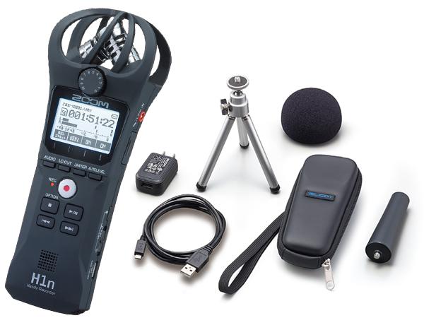 ZOOM ( ズーム ) H1n + APH-1n セット ◆【PCMレコーダー】【ハンディレコーダー】【DAW】【DTM】