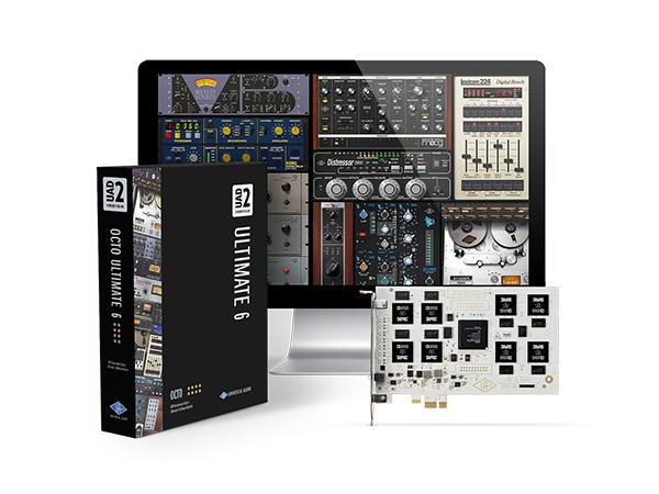 Universal Audio ( ユニバーサル オーディオ ) UAD-2 OCTO ULTIMATE 6 ◆【 送料無料 】【 DAW 】【 DTM 】