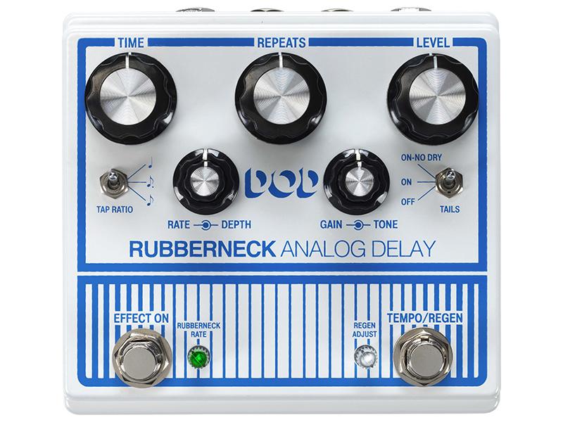 <title>ウォームで豊かな音色を備えた100%アナログ回路によるディレイ 店 DOD ディオーディ Rubberneck Analog Delay アナログ ディレイ</title>
