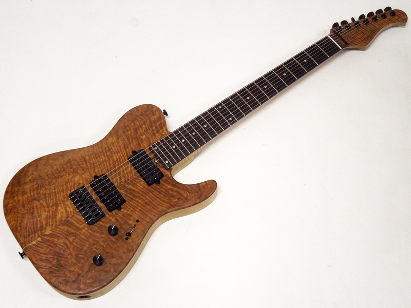 Bacchus ( バッカス ) T7-CUSTOM YS/R (NA-MAT)【国産7弦 エレキギター オーダー品 】