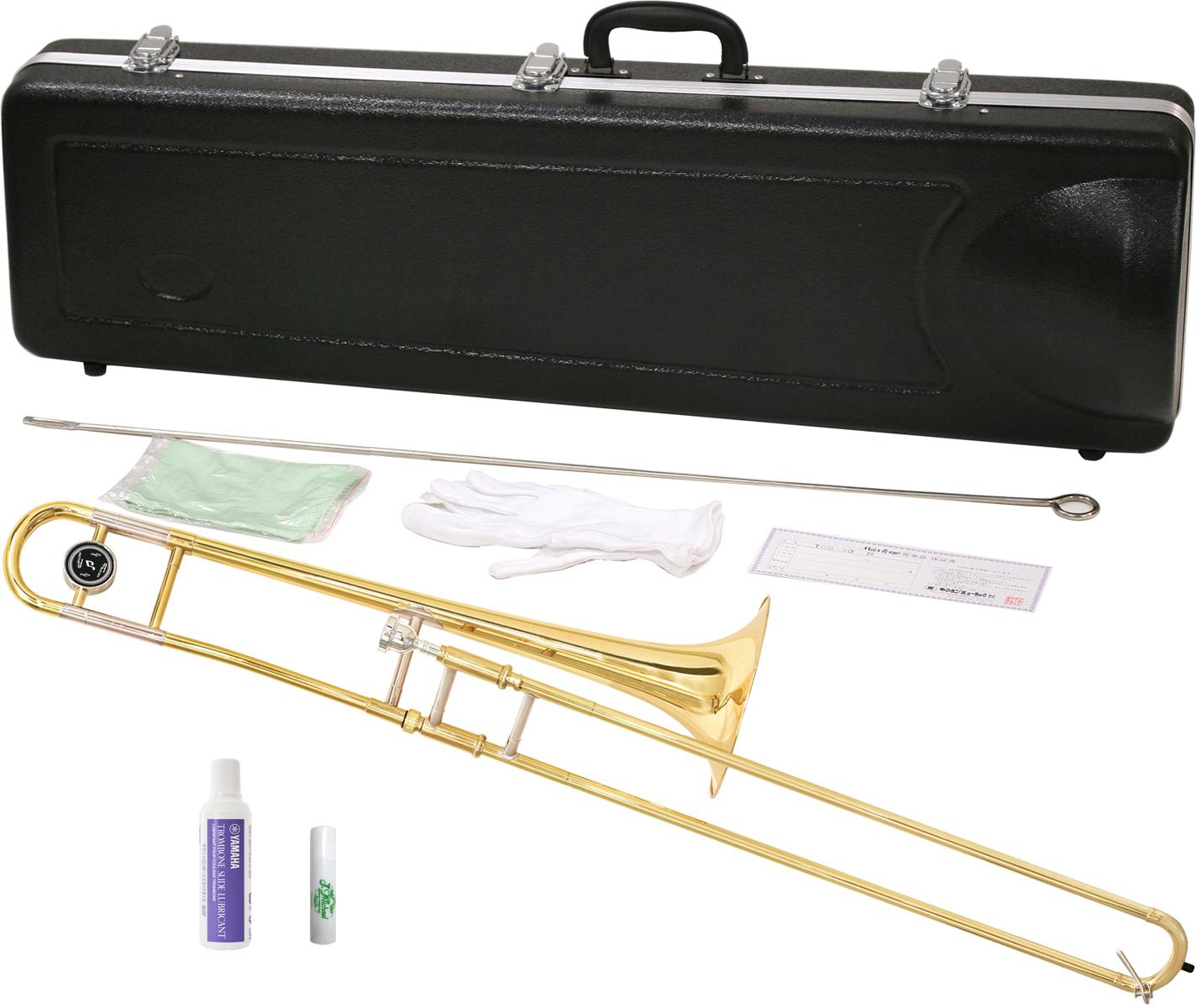 MAXTONE ( マックストーン ) トロンボーン TRB-30 新品 細管 B♭ テナートロンボーン 8インチベル 本体 初心者 スライドオイル 付き 管楽器 【 TRB30 セット B】 送料無料