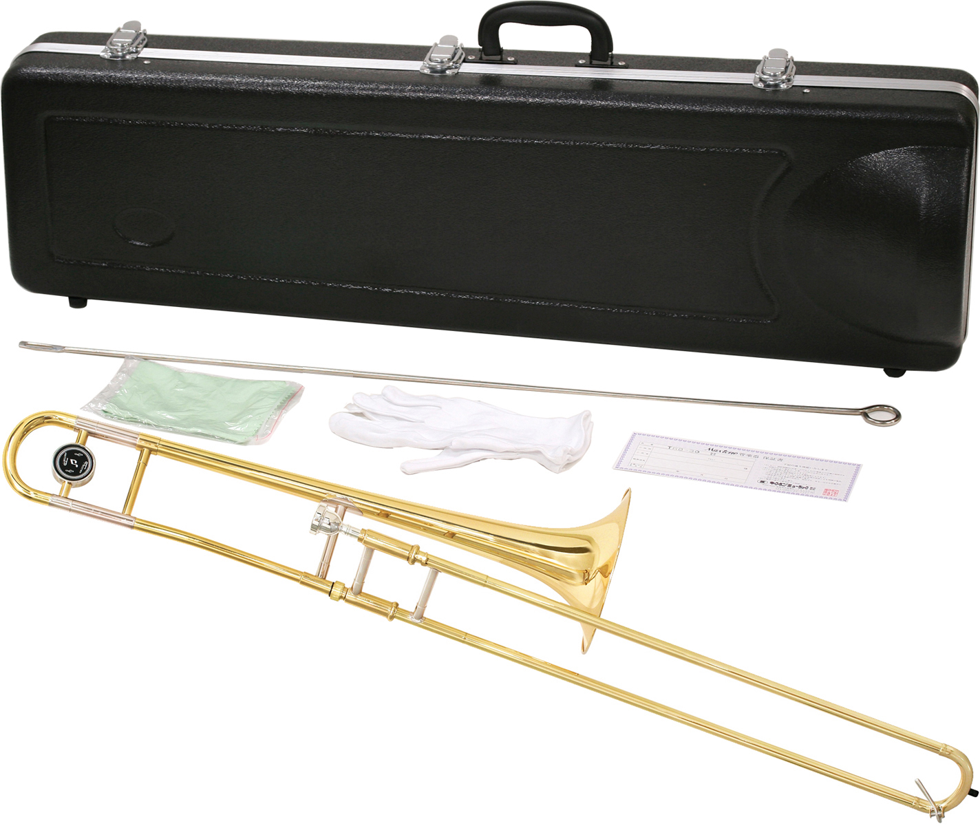 MAXTONE ( マックストーン ) トロンボーン TRB-30 新品 細管 B♭ テナートロンボーン 8インチベル 本体 初心者 管楽器 TRB30 Tenor trombone 一部送料追加 送料無料(北海道/沖縄/離島不可)