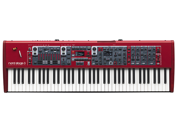 CLAVIA Nord Stage 3 HP 76  ◆【送料無料】【76鍵盤】【ピアノ】【オルガン】【シンセサイザー】【DTM】【DAW】【smtb-k】