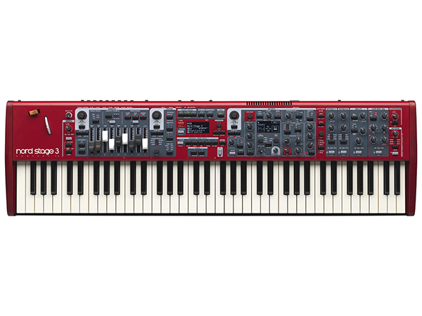 CLAVIA Nord Stage 3 Compact ◆【送料無料】【73鍵盤】【ピアノ】【オルガン】【シンセサイザー】【DTM】【DAW】【smtb-k】