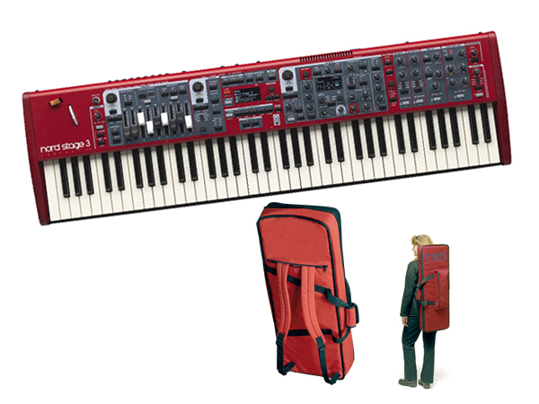 CLAVIA Nord Stage 3 Compact ケースセット ◆【送料無料】
