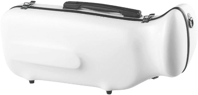 CCシャイニーケース II CC2-TP-WH トランペットケース ホワイト ハードケース トランペット用 リュックタイプ 管楽器 シングル ケース 白色