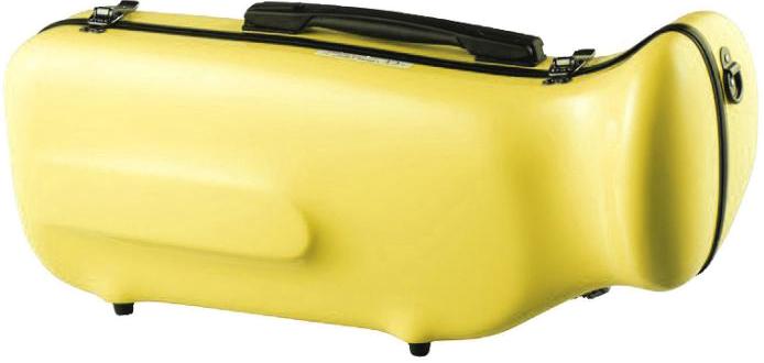 pastel yellow 黄色 訳あり PY B♭ trumpet hard case 売れ筋ランキング トランペット CCシャイニーケース II シングル 管楽器 CC2-TP-PY ケース ハードケース トランペット用 パステル リュックタイプ トランペットケース イエロー
