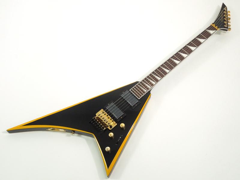 Jackson ( ジャクソン ) Rhoads RRX24 Black with Yellow Bevels【ランディ V 】