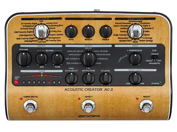 ふるさと納税 ZOOM ( ZOOM ズーム ) AC-3 Acoustic AC-3 Creator】【アコースティックギター プリアンプ】 エレアコ, Billboard e-shop:35f194ec --- canoncity.azurewebsites.net