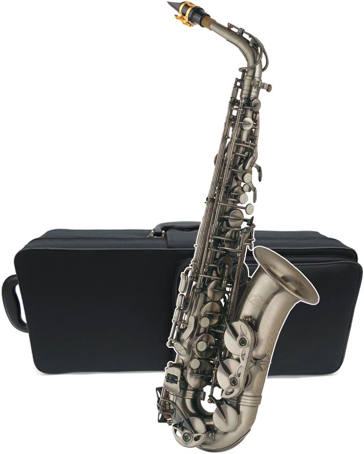 J Michael ( Jマイケル ) AL-980GM アルトサックス 新品 アウトレット ガンメタリック カラー サクソフォン 管楽器 初心者 本体 管体 E♭調 alto saxophone 送料無料