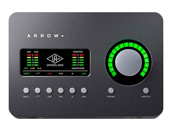 Universal Audio ( ユニバーサル オーディオ ) ARROW ◆【Thunderbolt 3 専用オーディオインターフェイス】 ◆【送料無料】【オーディオインターフェイス】【DAW】【DTM】