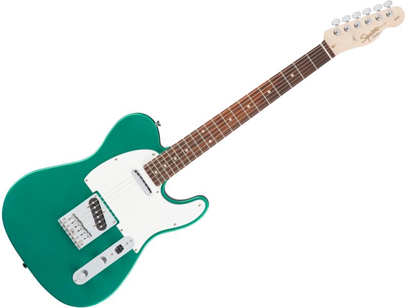 SQUIER ( スクワイヤー ) Affinity Telecaster (Race Green/R)【 テレキャスター by フェンダー】【310200592】【C3316 モノグラム・ストラップ プレゼント 】 エレキギター
