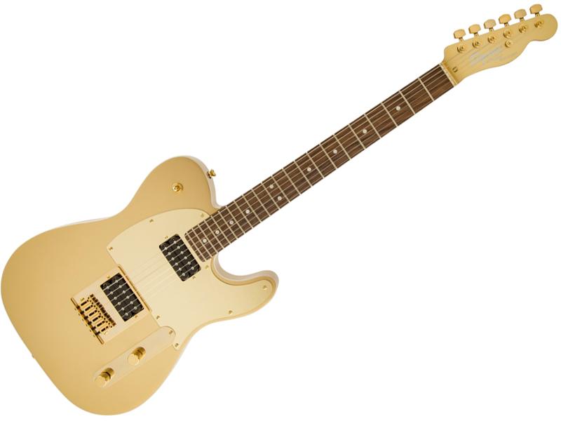 SQUIER ( スクワイヤー ) J5 Telecaster (Frost Gold)【 ジョン5 テレキャスター by フェンダー】【0371006579】【C3316 モノグラム・ストラップ プレゼント 】 エレキギター