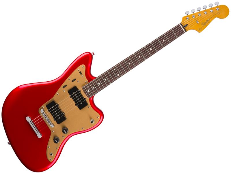 SQUIER ( スクワイヤー ) Deluxe Jazzmaster ST (CAR) 【ジャズマスター by フェンダー】【303100509】【C3316 モノグラム・ストラップ プレゼント 】 エレキギター