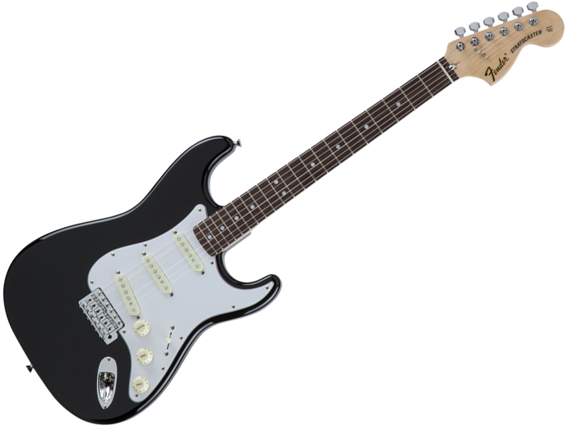 Fender ( フェンダー ) Made in Japan Traditional 70s Stratocaster (Black/R)【国産 ストラトキャスター 】【5359700306】 フェンダー・ジャパン