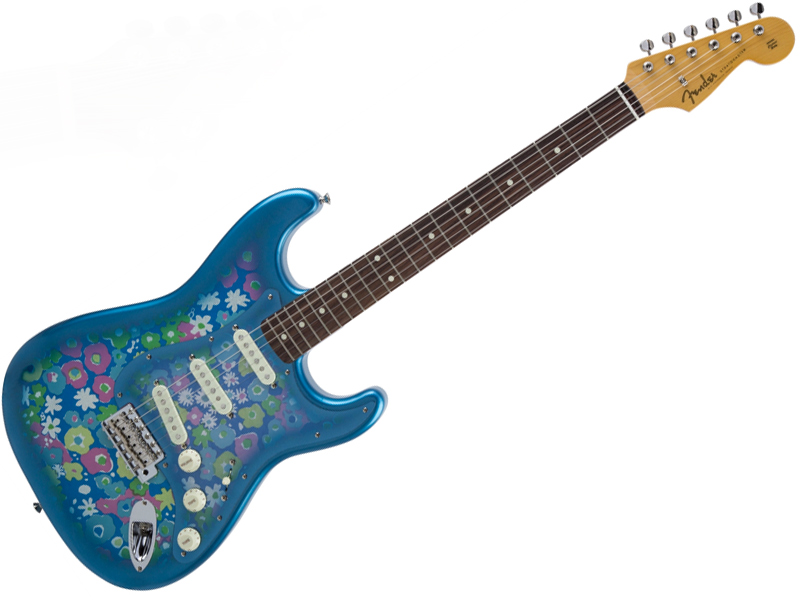 Fender ( フェンダー ) Made in Japan Traditional 60s Stratocaster (Blue Flower )【国産 ストラトキャスター 】【5359600350】 フェンダー・ジャパン
